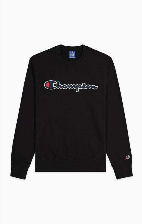 Champion Crewneck Sweatshirt Black