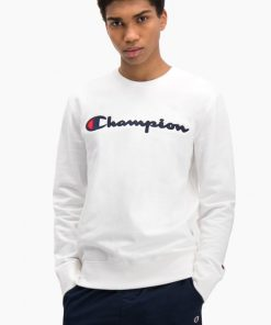 Champion Crewneck Sweatshirt White