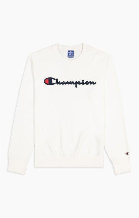 Champion Crewneck Sweatshirt White