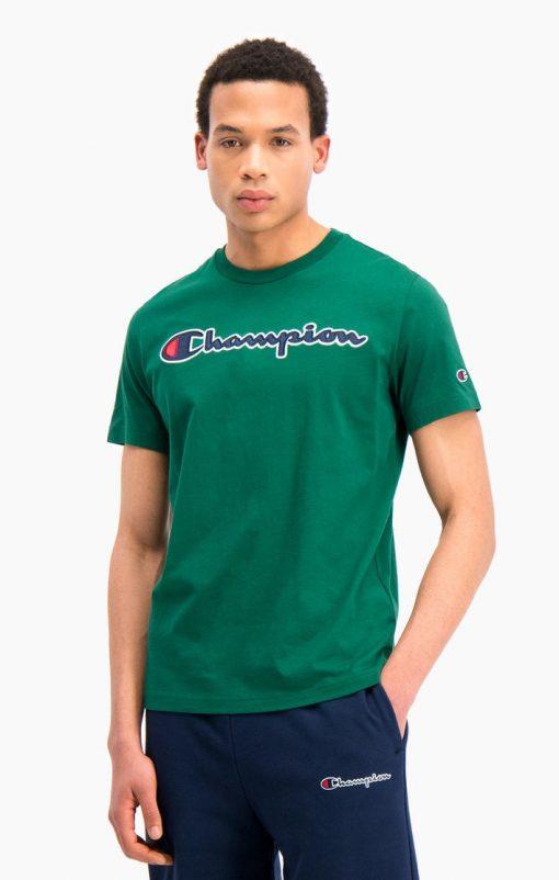 Champion Crewneck T-shirt Green