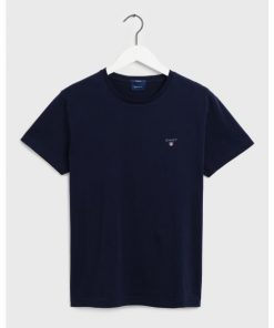 Gant men t-shirt navy blue