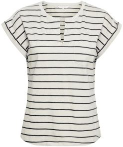Part Two Kedita T-shirt Stripe Navy