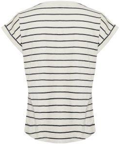 Part Two Kedita T-shirt Stripe Navy