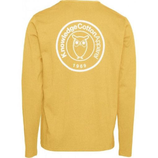 Knowledge Cotton Apparel Locust Long Sleeve Zennia Yellow
