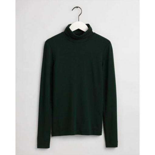 Gant Turtleneck Jersey Tartan Green