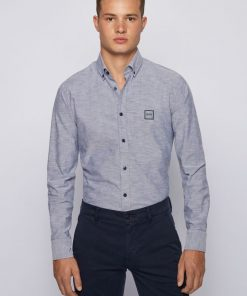 Hugo Boss Mabsoot_1 Shirt Dark Blue