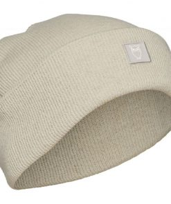 Knowledge Cotton Apparel Leaf Organic Wool Beanie Nature Melange