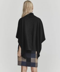 Holebrook Kiara Poncho Black