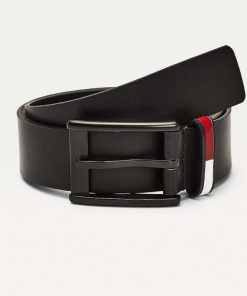 Tommy Hilfiger Flag Leather Belt