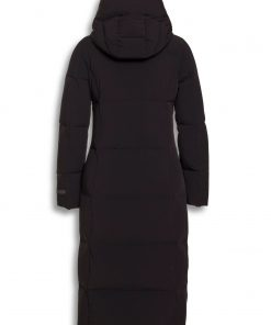 Beaumont Bi-Stretch Long Coat Black