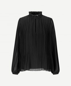 Samsoe & Samsoe Lady Ls Blouse Black
