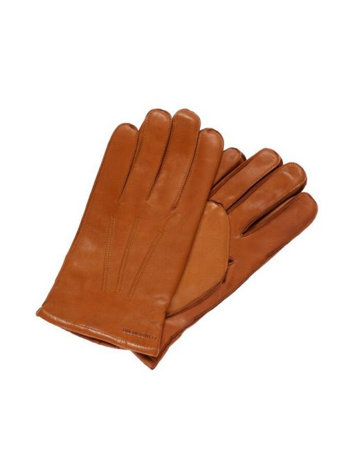 J.Lindeberg Milo Leather Gloves Cognac