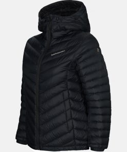 Peak Performance Frost Down Hood Jacket Women Black