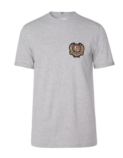Les Deux Egalité T-shirt Light Grey Melange