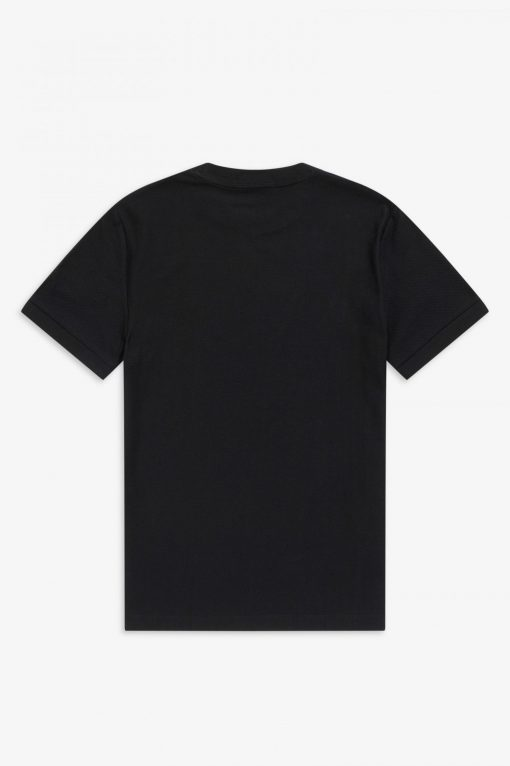 Fred Perry Pique T-shirt Black