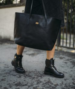 Pura Leather Bag Black