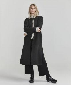 Holebrook Norma Coat Black Melange