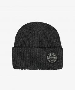 Makia Tag Beanie Dark Grey