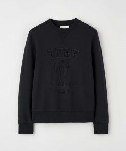 Tiger Jeans Riane Emb Sweatshirt Black