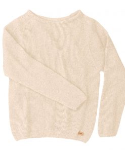 Pura Warm Short Knit Light beige