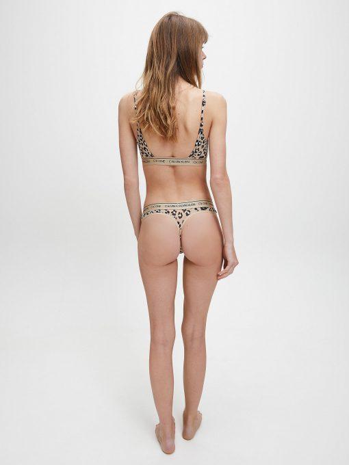 Calvin Klein Underwear Thong Stephen Animal