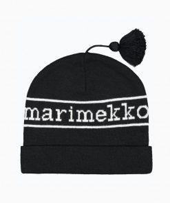 Marimekko Oivi Logo Hat Black