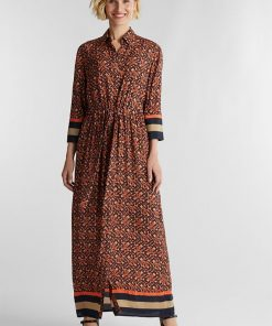 Esprit Shirt Dress Camel