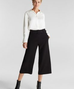 Esprit Culotte Pants Black