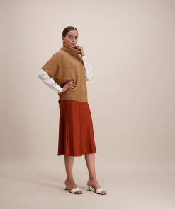Balmuir Grenada High Neck Knit Camel