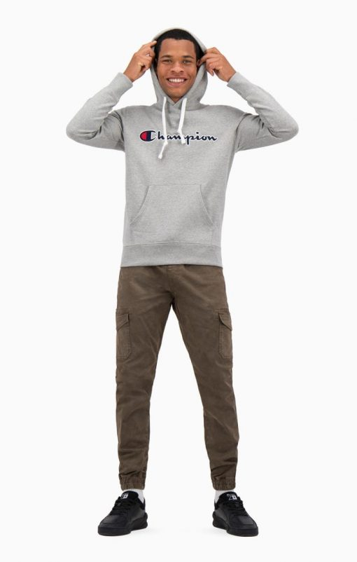 Champion Hooded Sweatshirt Grey