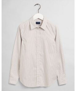 Gant The Oxford Banker Slim Shirt Warm Khaki