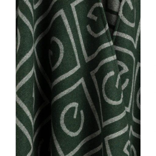 Gant Icon G Poncho Tartan Green