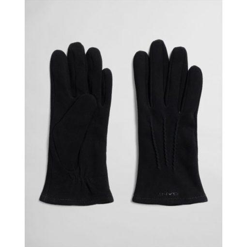 Gant Suede Gloves Black