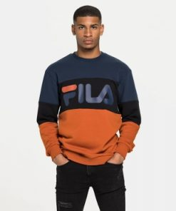 Fila Straight Blocked Crew Orange