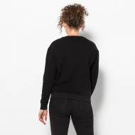 Fila Effie Crew Sweat Black