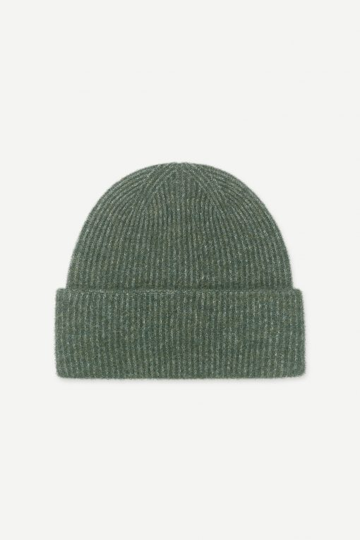 Samsoe&Samsoe Nor Hat Darkest Spruce Melange