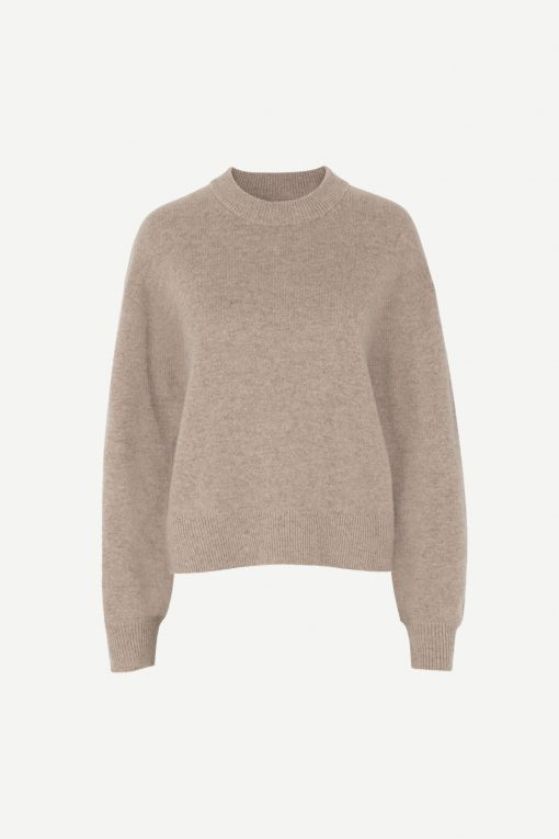 Samsoe & Samsoe Amaris Crew Neck Warm Grey