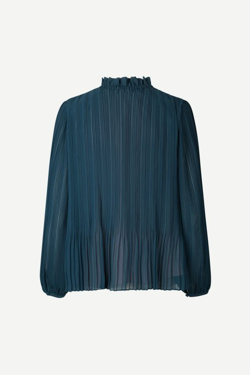 Samsoe & Samsoe Lady Ls Blouse Midnight Navy