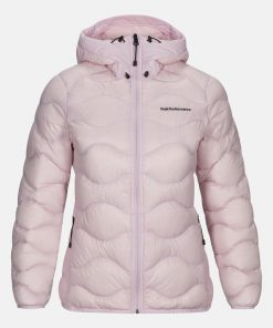Peak Performance Helium Hood Jacket Women Cold Blush
