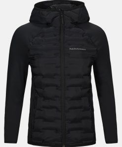 Peak Performance Argon Hybrid Hood Jacket Women Black