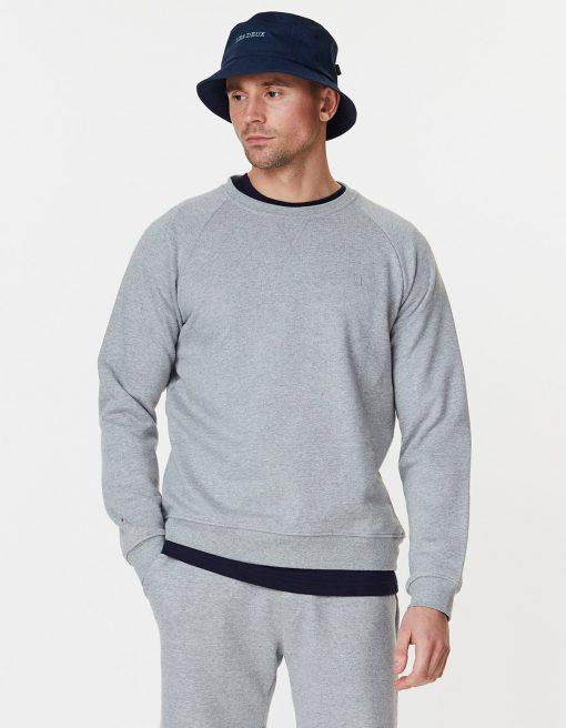 Les Deux Calais Sweatshirt Grey Melange
