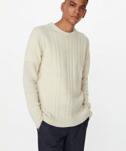 Les Deux Greene Cable Knit Off White