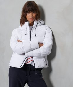 Superdry Spirit Sports Puffer Jacket White