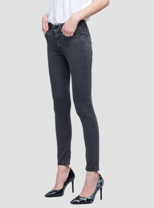 Replay New Luz Hyperflex Jeans Black