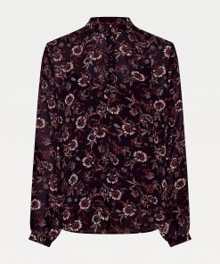 Tommy Hilfiger Amia Pop Over Shirt Wildfloral Print