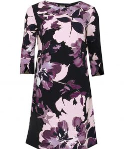 STI Gennie Dress Eggplant