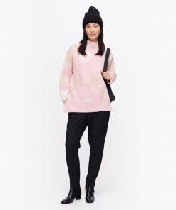 Marimekko Onnekas Unikko Pullover Pink