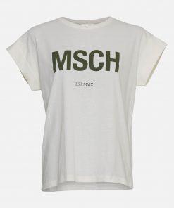 Moss Copenhagen Alva STD T-Shirt Rgret/B Forest