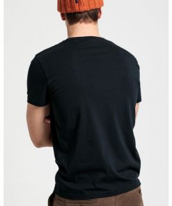 Gant Lock-Up T-shirt Black