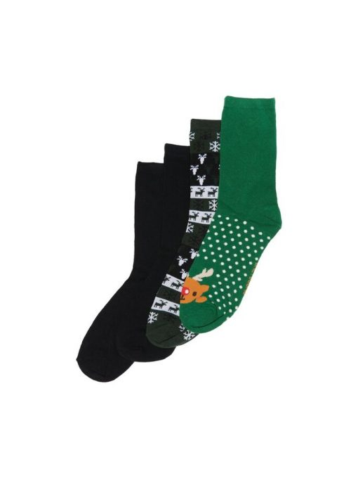 Only & Sons Christmas Socks 4-Pack